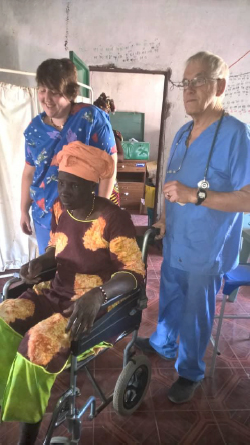 Wheelchairs and medical equipment donated to The Gambia