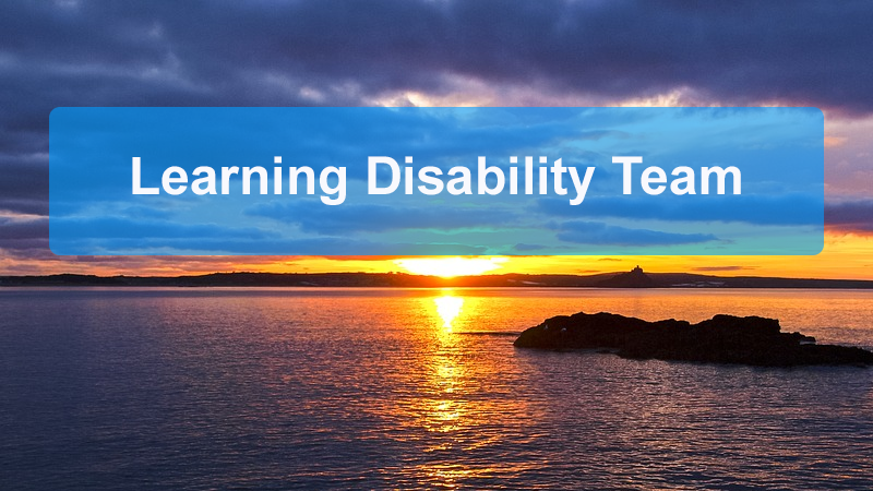 Learning Disability Team Header